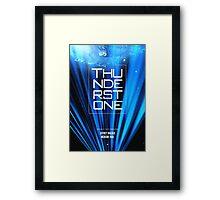 Thunderstone TV Show II Framed Print