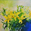 Dorothy's Yellow Lily  by Polly Greathouse