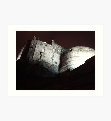 spooky castle Art Print