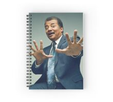 Neil D Tyson Spiral Notebook