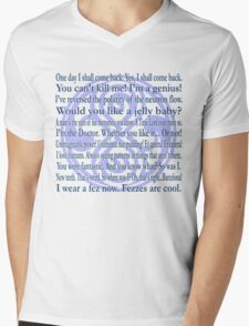 Galliphrases Mens V-Neck T-Shirt