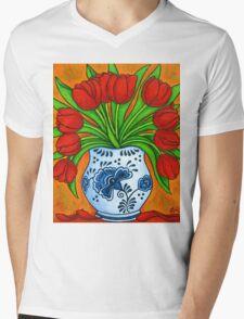 Dutch Delight Mens V-Neck T-Shirt