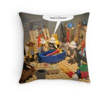 A Startling Discovery! Throw Pillow