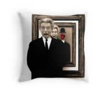 What Would Magritte Do? Throw Pillow