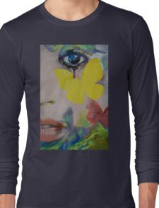 Heart Obscured by the Moon Long Sleeve T-Shirt