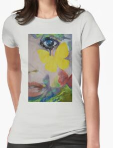 Heart Obscured by the Moon Womens Fitted T-Shirt