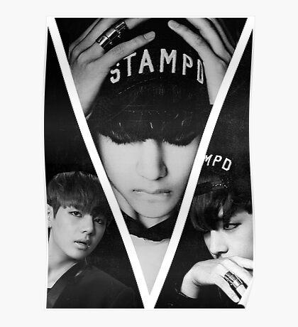 BTS/Bangtan Sonyeondan - Dark Kim Taehyung Poster