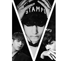BTS/Bangtan Sonyeondan - Dark Kim Taehyung Photographic Print