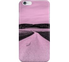 Road to Nowhere (in Pinkish) iPhone Case/Skin