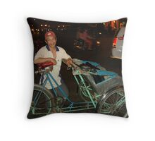 ho chi minh ride Throw Pillow