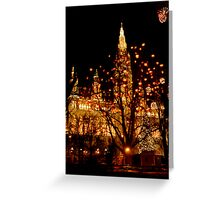 Christmas in Vienna Greeting Card