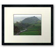 Parkhouse Hill & Glutton Dale Framed Print