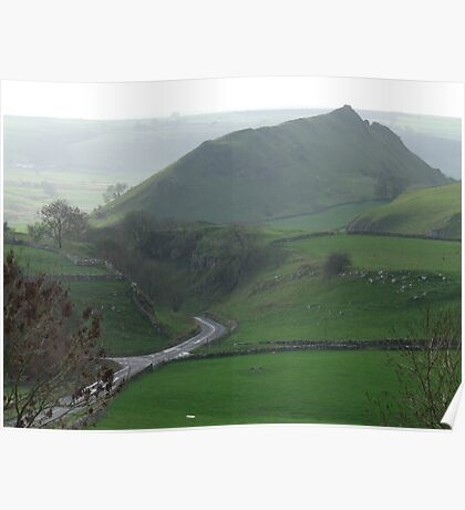 Parkhouse Hill & Glutton Dale Poster