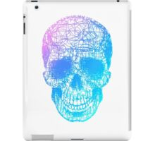 Rainbow Scribble Skull iPad Case/Skin