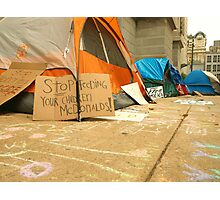 Occupy Philadelphia Photographic Print