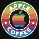 Apple Coffee by Royal Bros Art