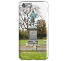 Robert Verdin Statue iPhone Case/Skin