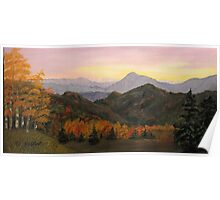 Smoky Mountain Sunrise Poster