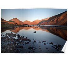 A Wastwater Sundown Poster