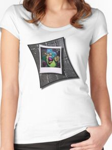 Double Drop ..... Women's Fitted Scoop T-Shirt
