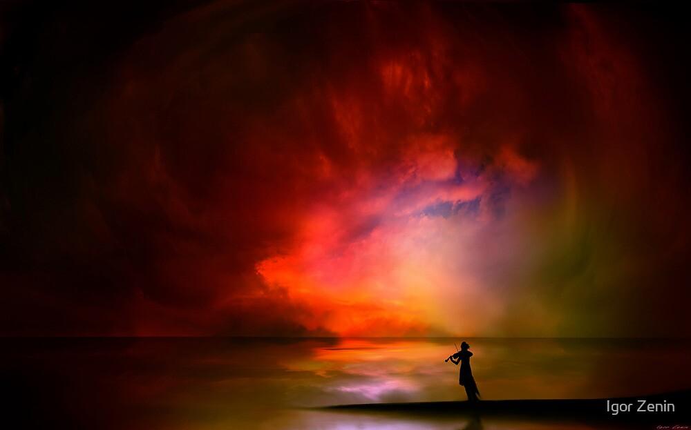 Ocean Violinist by Igor Zenin