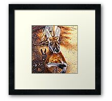 WHATS THE TIME MATE? Framed Print