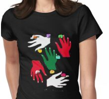 CHRISTMAS GRAB TEE/BABY GROW Womens Fitted T-Shirt