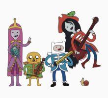 Sgt Finn's Awesome Friends Club Band Kids Tee