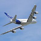 Airbus A380 by Barrie Woodward