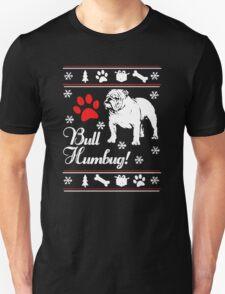 Bulldog Ugly Xmas Sweater T-Shirt