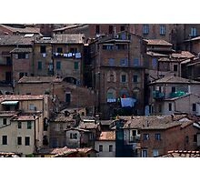 The other side of Siena Photographic Print
