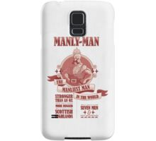 Manly-Man Samsung Galaxy Case/Skin