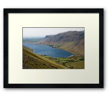 Wast Water Model Framed Print