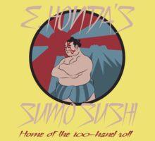 E. Honda's Sumo Sushi Baby Tee