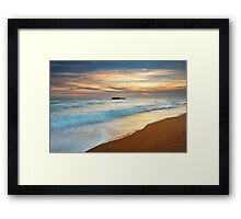 Evening Light at Durdle Door, Dorset Framed Print