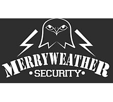 Merryweather Security (White) Photographic Print