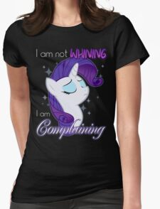 Not Whining Womens Fitted T-Shirt