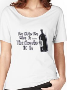 Black Books - Bernard On Wine Women's Relaxed Fit T-Shirt