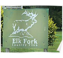 Elk Fork Country Club Poster