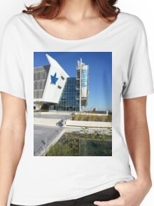 Tel Aviv University, The Porter Ecology Building  Women's Relaxed Fit T-Shirt