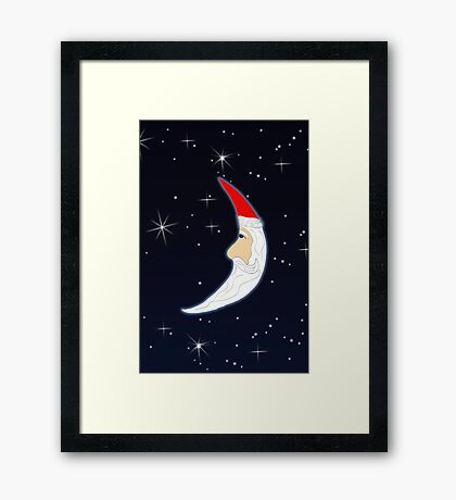 Up Amoung the Stars Framed Print