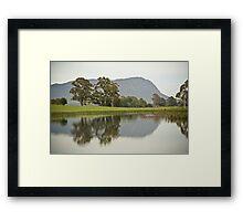 Mt Roland Reflection Framed Print