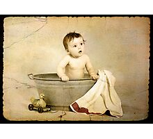 BATH TIME Photographic Print
