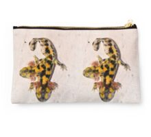 Two-headed Near Eastern fire salamander  Studio Pouch