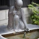 Onsen Fountain Detail by Skye Hohmann