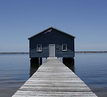 Crawley Edge Boatshed by Michelle Cocking