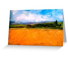 Gazing at the Gleam...Hardy Country.... Greeting Card