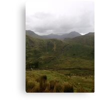 Beautiful, Brooding Snowdonia Canvas Print