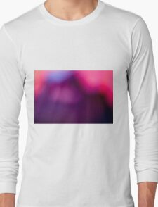 Abstract brilliant colorful abstract in purple  Long Sleeve T-Shirt