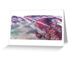 Ryanian Cliffs Greeting Card